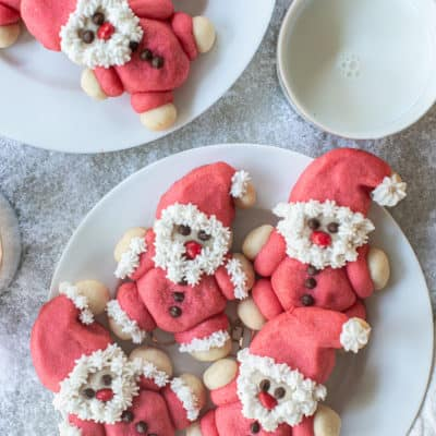 Ho, Ho, Ho! Roly-Poly Santa Cookie Recipe