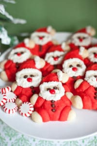Ho, Ho, Ho! Roly-Poly Santa Cookie Recipe