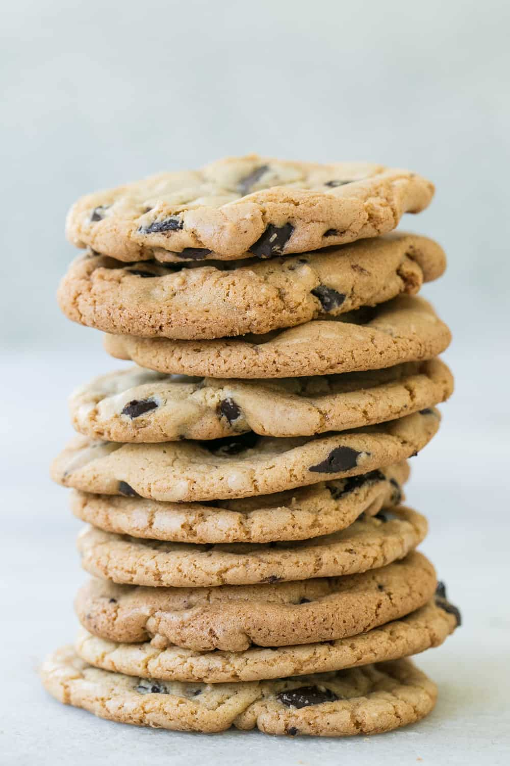 Butter Less Chocolate Chip Cookies Sugar And Charm