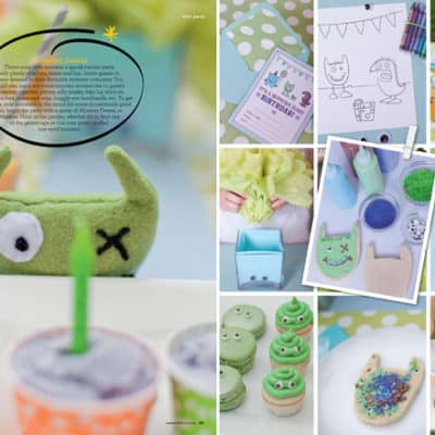 monster bash featured in littlies magazine