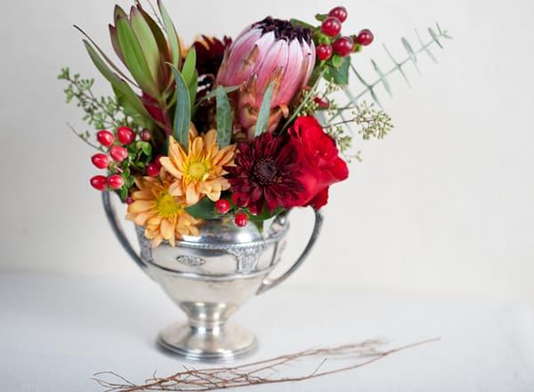 Thanksgiving Floral Arrangement Sugar And Charm Sugar And Charm