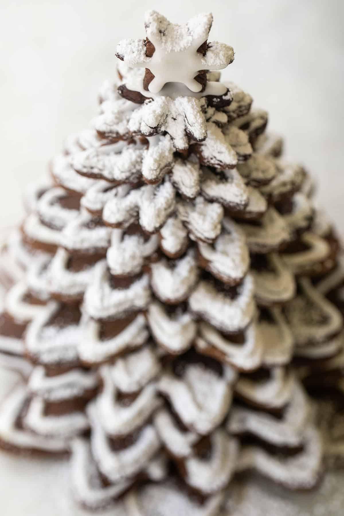 gingerbread Christmas tree decoration