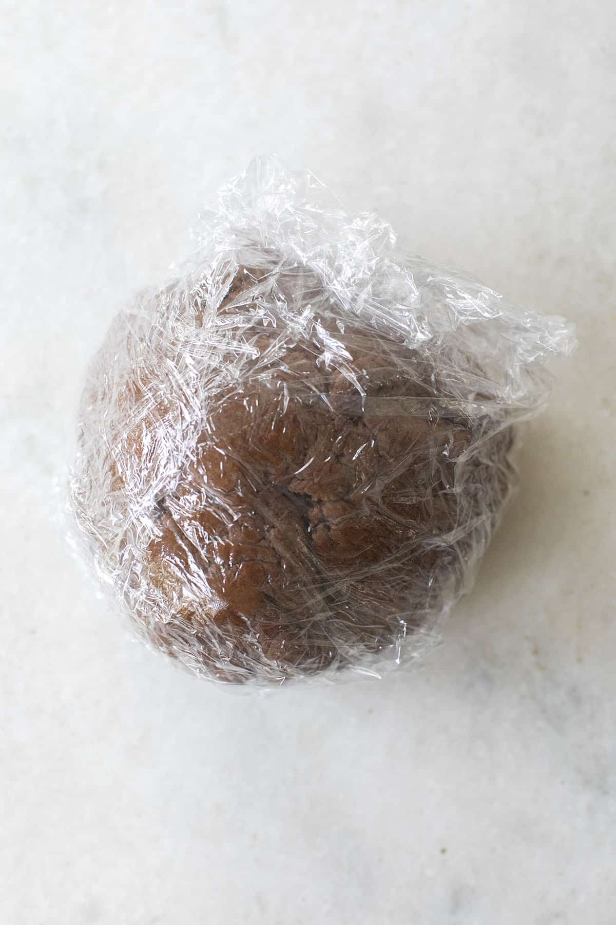 chilled gingerbread dough