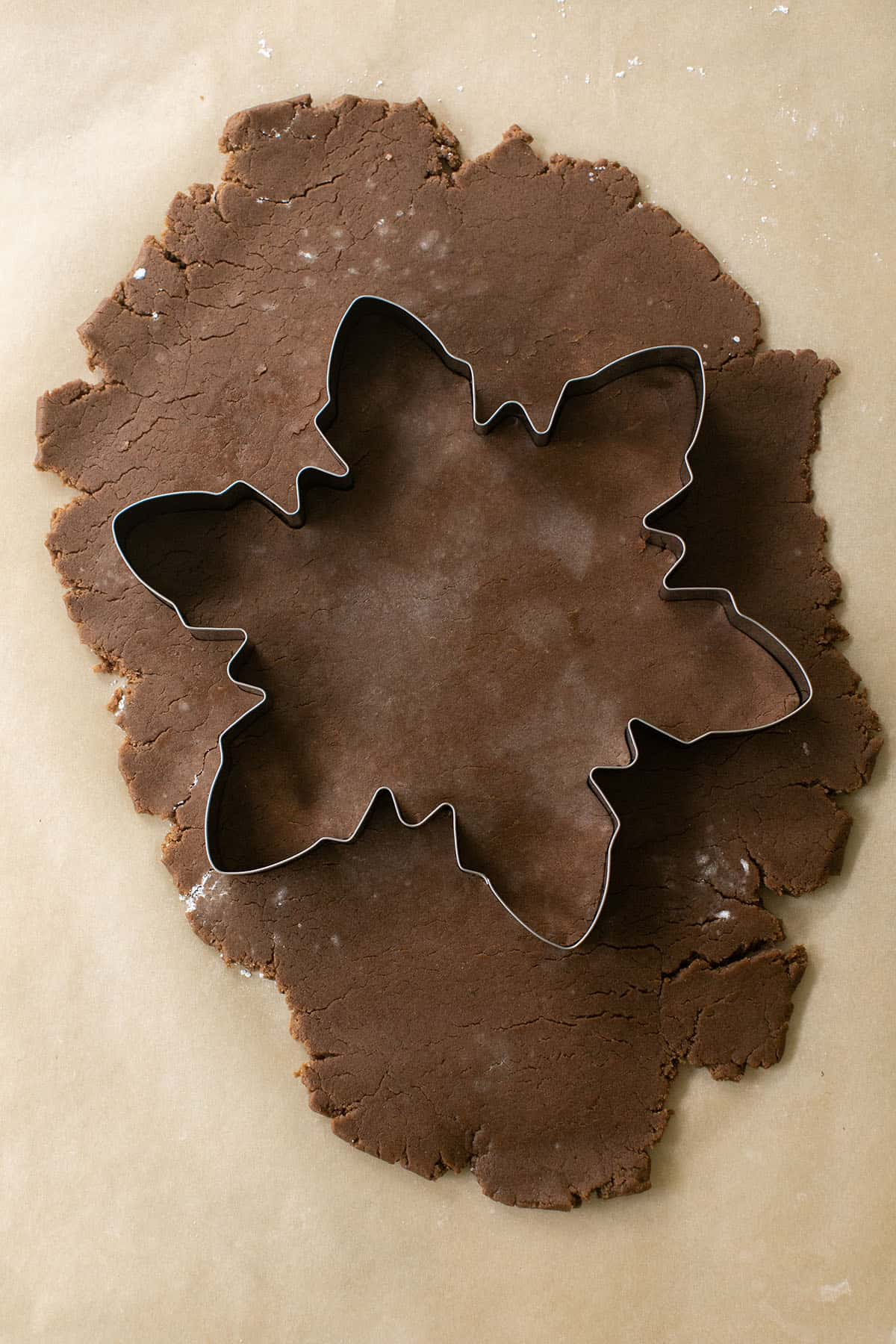 gingerbread tree cookie cutout