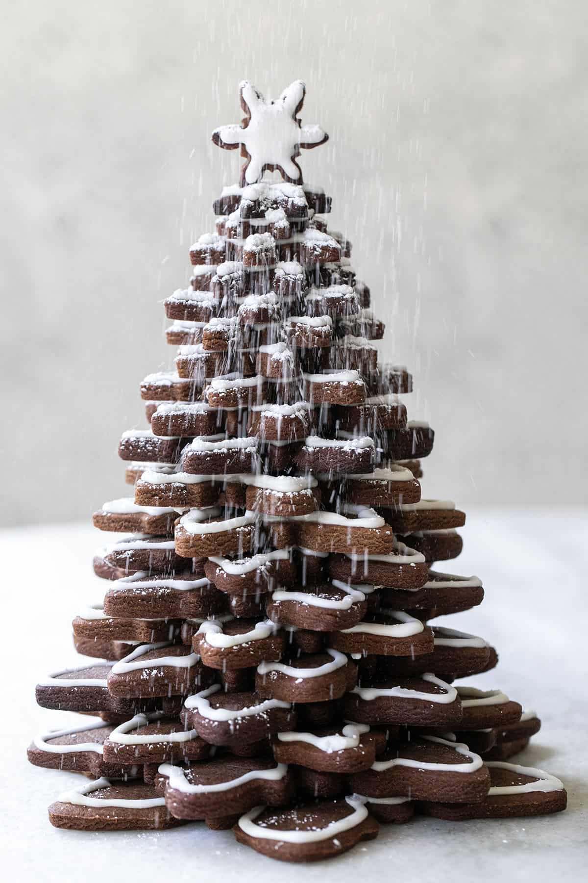 gingerbread tree for Christmas decorations