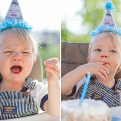 DIY Photo Birthday Party Hats