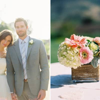 a charming garden wedding
