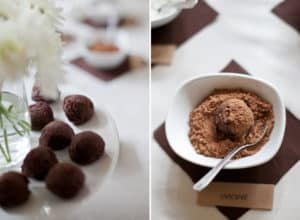 How to Set Up a Truffle Bar