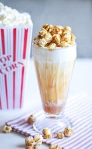 Cracker Jack Caramel Popcorn Vanilla Milkshake