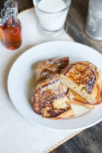 Sweet Mornings – Banana Breakfast Sandwiches