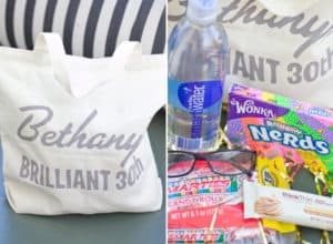 diy personalized gift bags