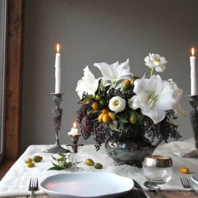 Beautiful Table Settings for Christmas