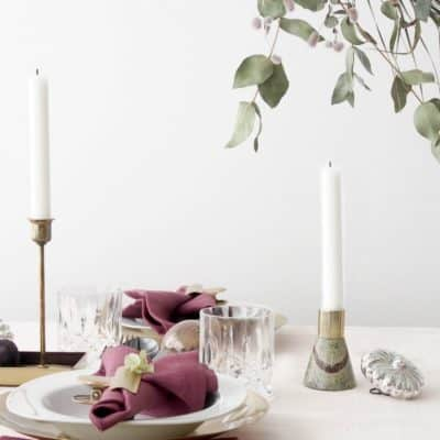 Beautiful Christmas Table Setting Ideas