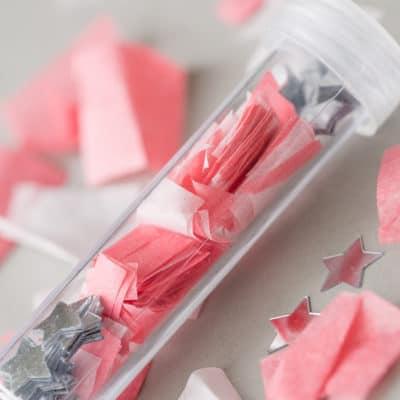 DIY Confetti Shooters