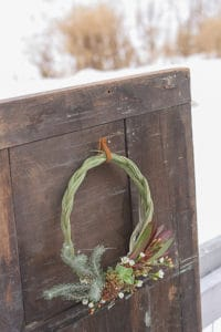 The Perfect January Wreath