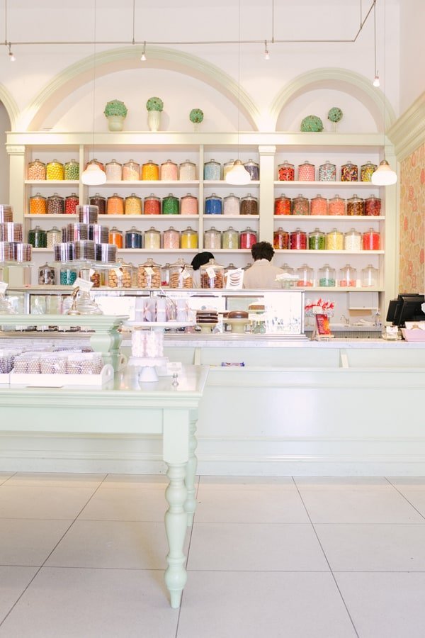Miette candy store  in San Fransisco