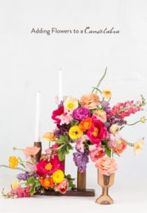 Adding Flowers to Your Candelabra