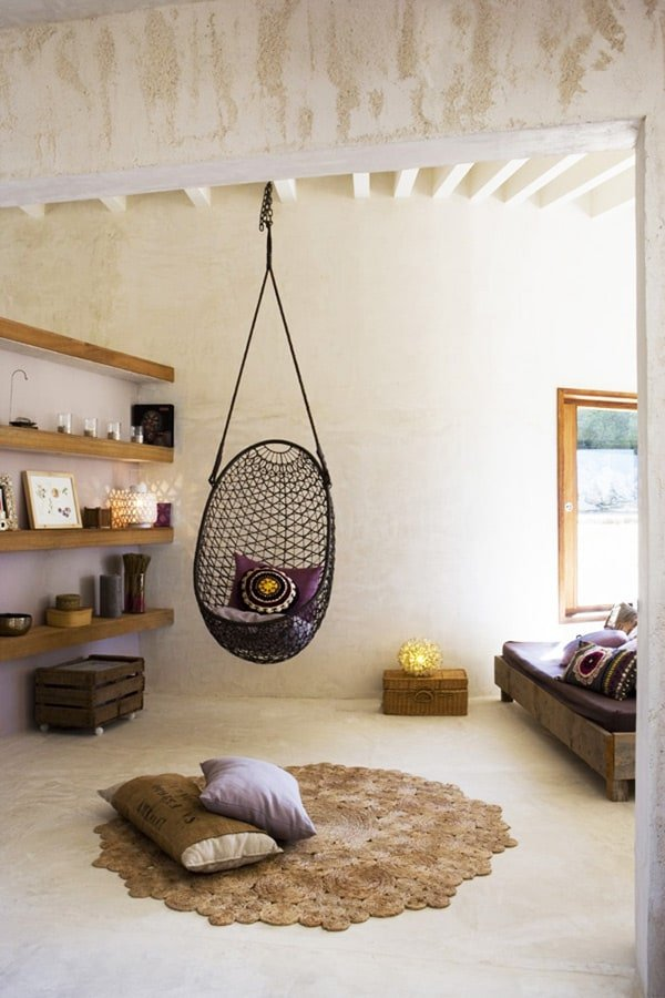 vs wedding and hanging apartment cupofjo rattan tour west blanket chair village bedroom rugs sheepskin chairs pillows girls save splurge