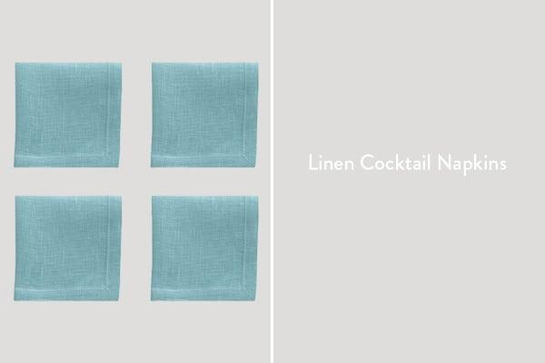 Linen Cocktail Napkins
