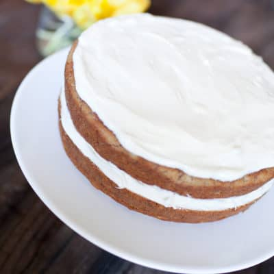 old-fashioned banana cake