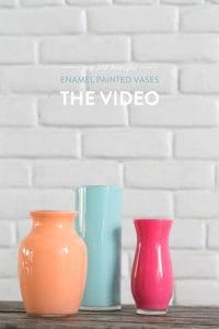 Video: Enamel Painted Vases