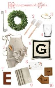 My Top Ten Favorite Monogrammed Gifts