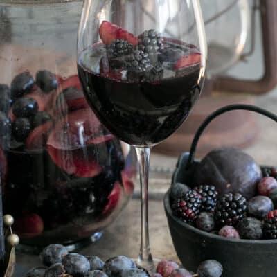 The Original Black Sangria Recipe
