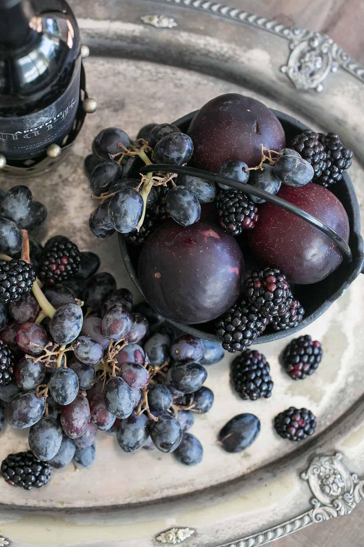 dark fruit to make sangria