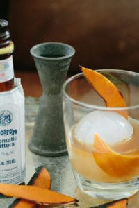 Burnt Orange Old Fashioned Cocktail Recipe