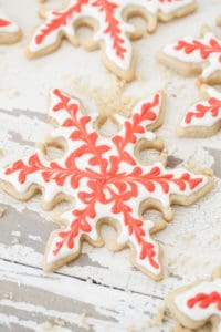 Gingerbread Spiced Sugar Cookies