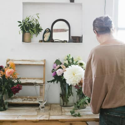 Creating the Perfect Home Floral Studio