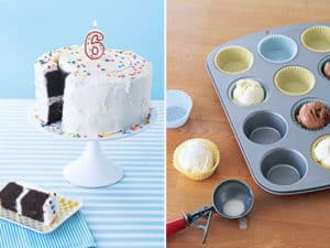 unique tips for serving cake and ice cream