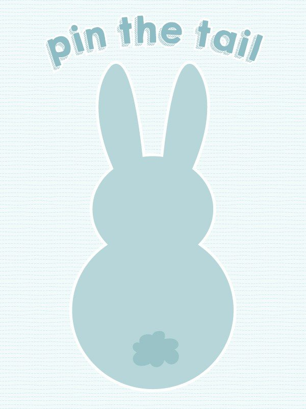 picture regarding Pin the Tail on the Bunny Printable named pin the tail upon the easter bunny