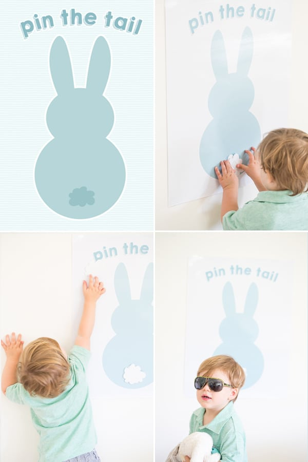 photo regarding Pin the Tail on the Bunny Printable named pin the tail upon the easter bunny