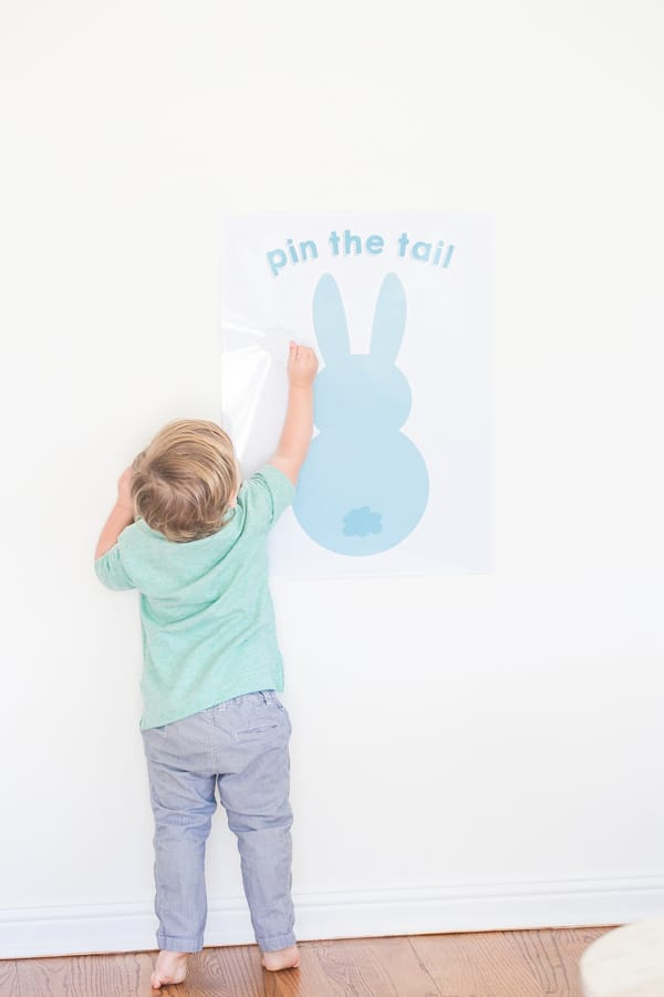 graphic regarding Pin the Tail on the Bunny Printable titled pin the tail upon the easter bunny