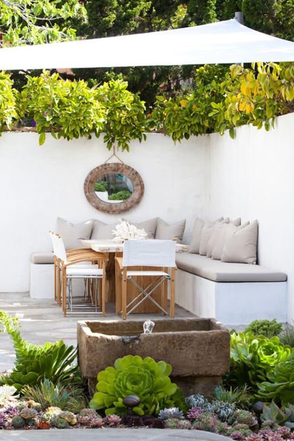 10 Beautiful Small Backyards - Sugar and Charm Sugar and Charm