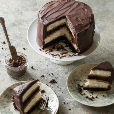 Heaven and Hell Cake – A Layered Chocolate Cake Recipe