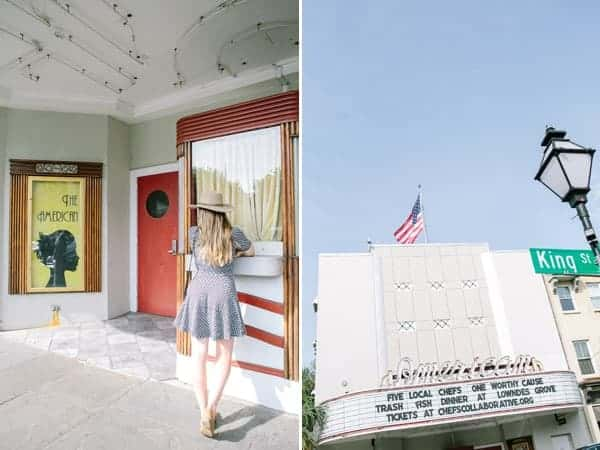Movie theater from the notebook