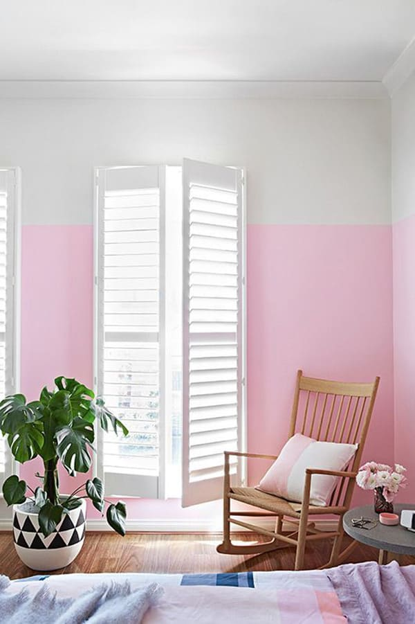 11 Chic Half Painted Rooms - Sugar and Charm