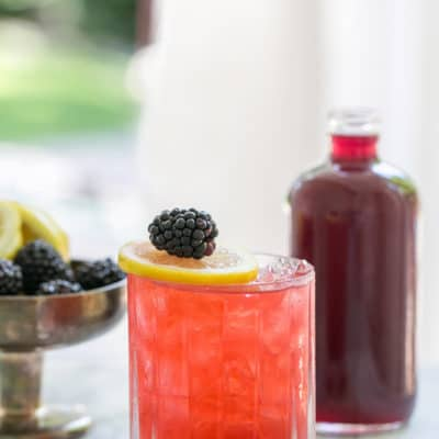 Blackberry Bramble Gin Cocktail Recipe