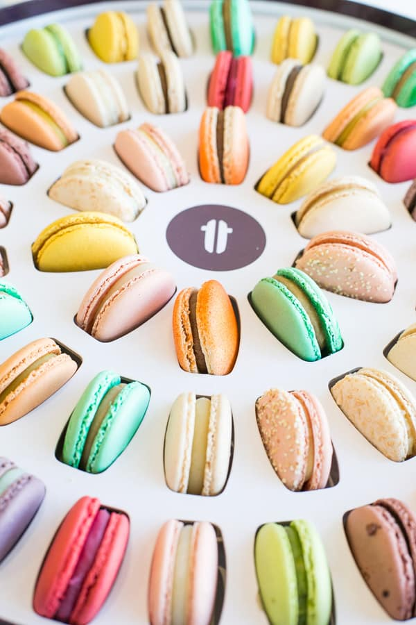 A box of Lette Macarons
