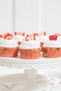 Martha Stewart Strawberry Cupcakes