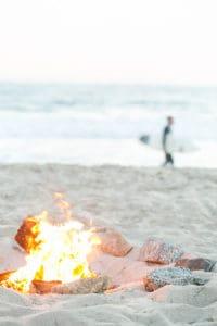 How to Host a Beach Bonfire