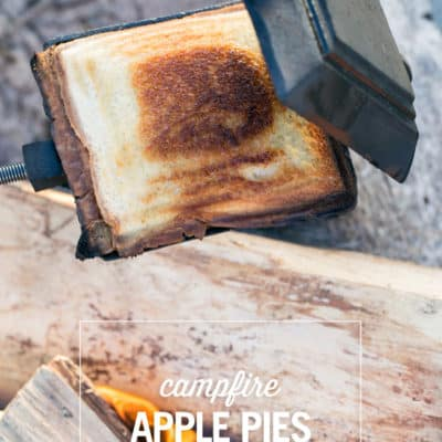 Camp Dessert  – Campfire Apple Pies