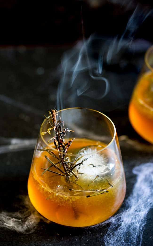 Haunted graveyard cocktail