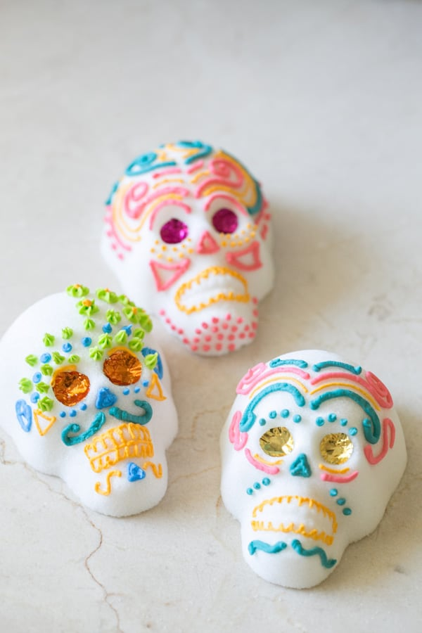 how to make mexican sugar skulls sugar and charm sugar and charm