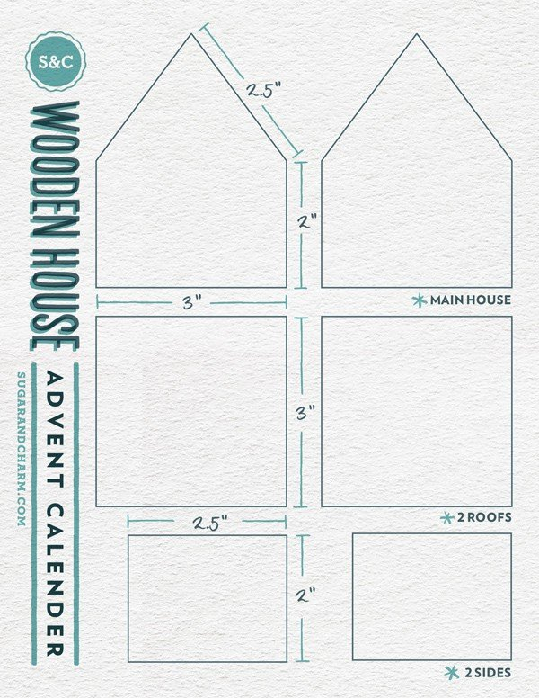 wooden house template
