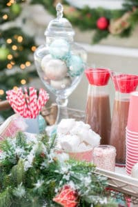 A Charming Hot Cocoa Stand