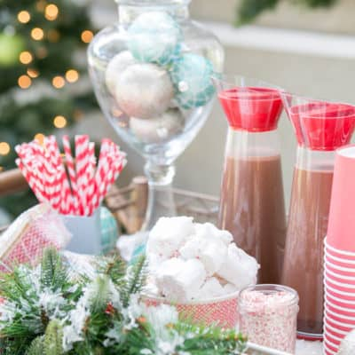 A Charming Hot Cocoa Bar