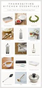Thanksgiving Kitchen Essentials